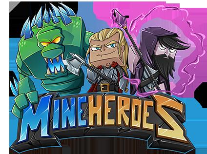 MineHeroes Logo